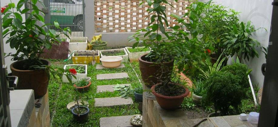 Charming Garden Areas