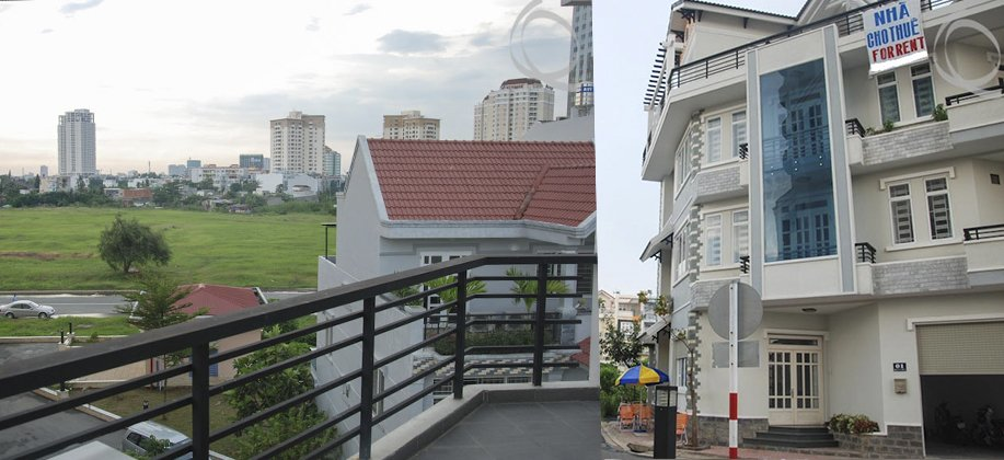 Large 5 Bdrm Townhouse with Terrace on top in An Phu