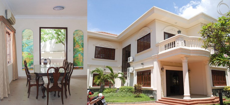 Very pretty Villa with Beautiful Garden - Thao Dien