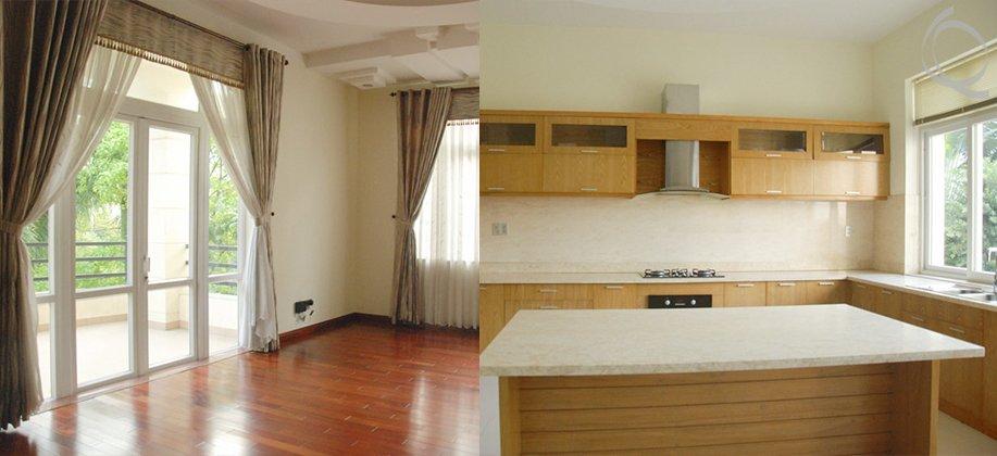 Incredibly spacious Villa in a compound - Thao Dien