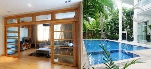 Garden villa 5bedrooms for rent, big pool and fully furniture