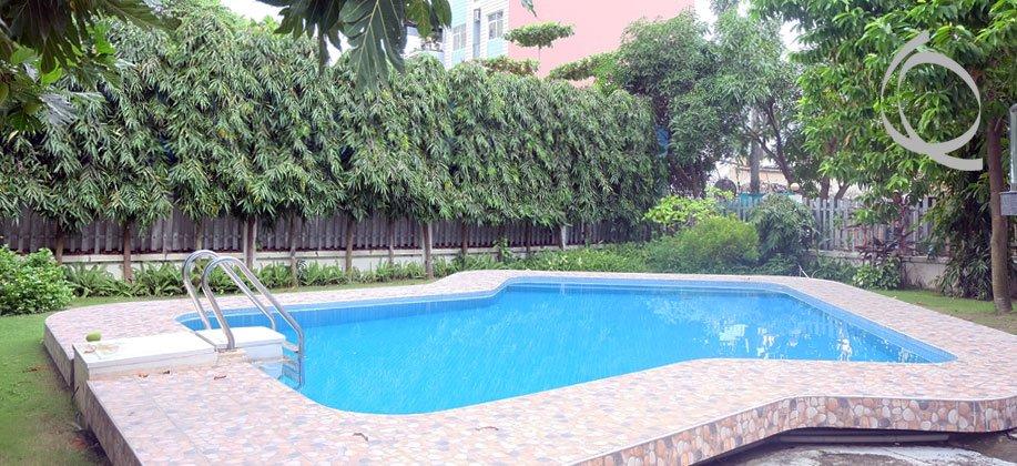 Villa Thao Dien, Big Garden, 4 bedrooms