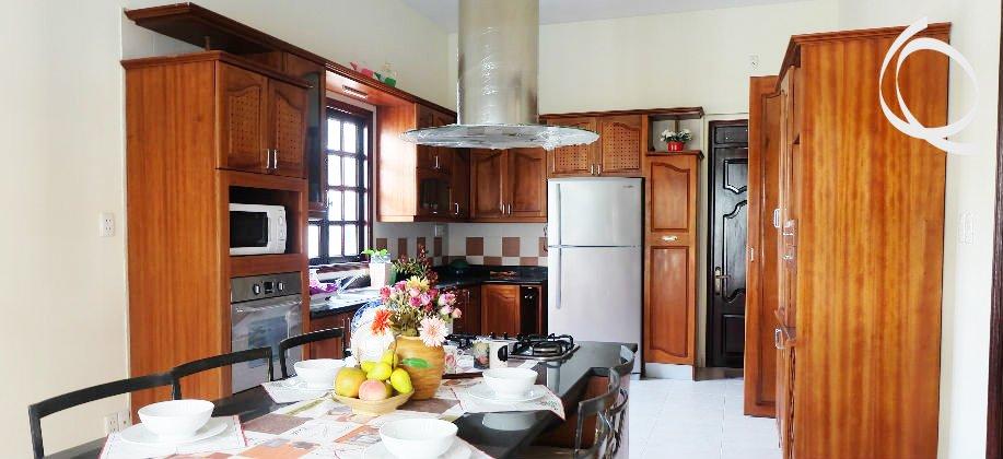 Villas for rent, 4bedrooms, small garden.