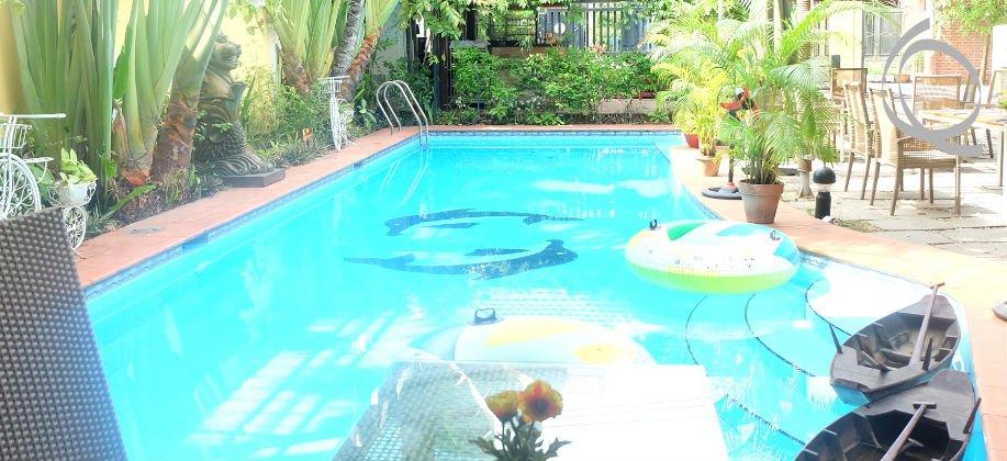 Villa for rent, big garden, pool