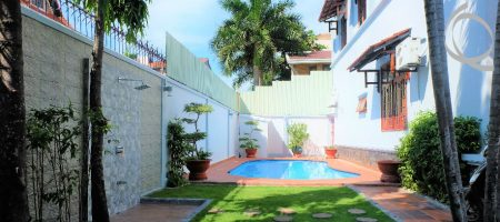 Villa for rent in Thao Dien, fully furnished, pool