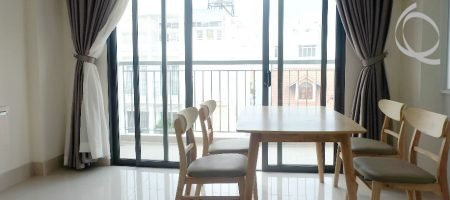 Serviced apartment for rent, pool, big balcony