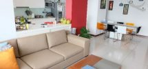 City Garden Sofa and Kitchen