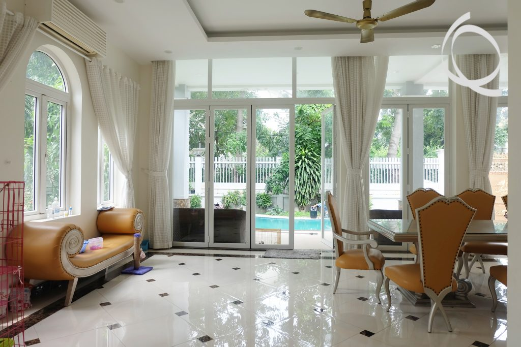 New villa for rent, nice garden and pool
