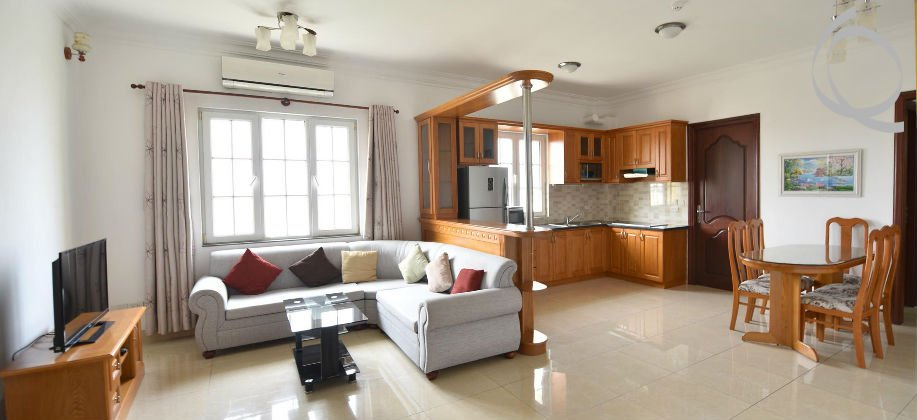 Serviced apartment 3bedrooms, gym, pool, BBQ area