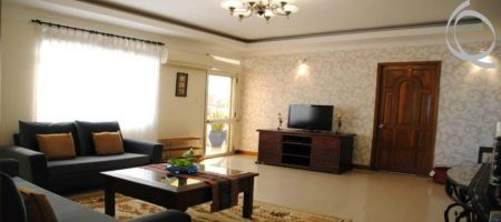 Serviced apartment in district Phu Nhuan for rent