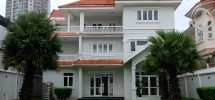 Villa riverview in Thao Dien, big place with pool and balcony
