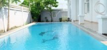 Villa in Thao Dien for rent, near International school