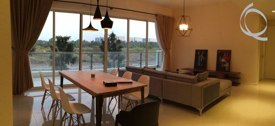Estella apartment fully furnished with balcony for rent