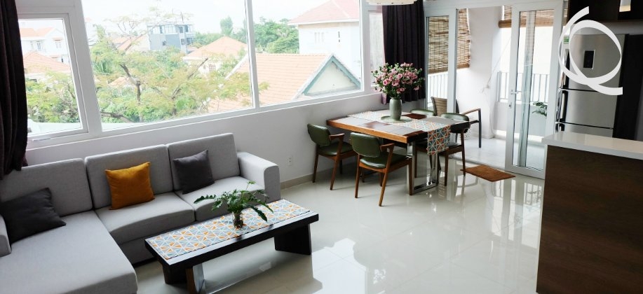 Serviced apartment in Thao Dien 2bedroom, gym & pool