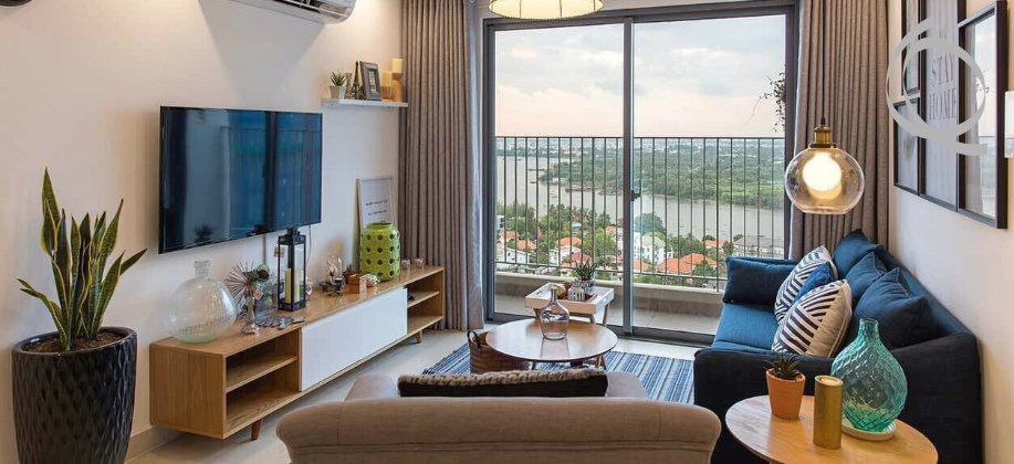 Perfect apartment 2bedroom fully furnished with riverview, balcony