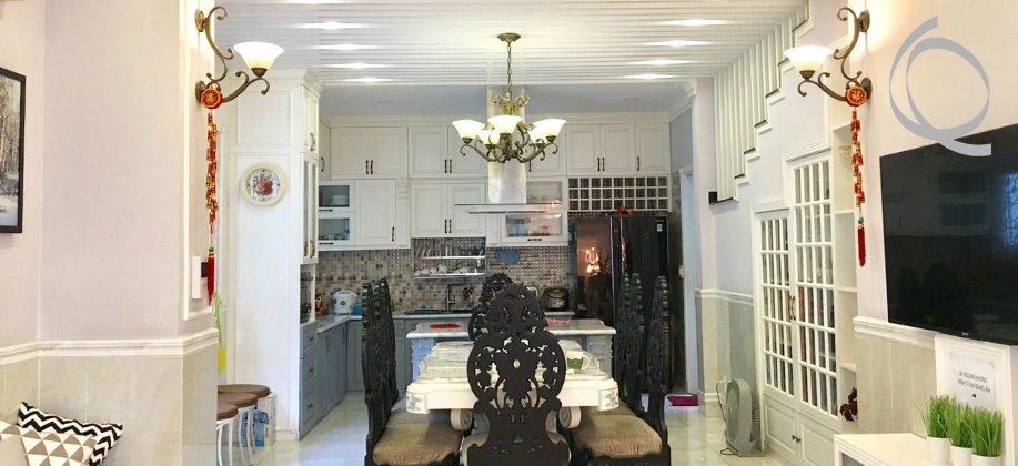 Villa 4bedrooms D.1- Binh Thanh for rent