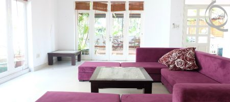 Villa garden in Compound with 3bedrooms and funished