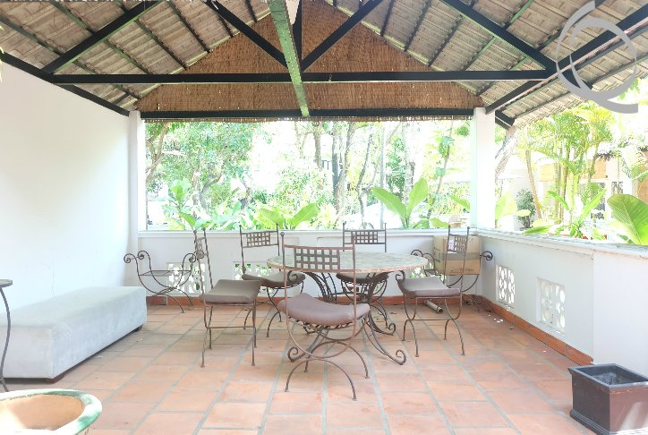 Villa garden in Compound with 3bedrooms and funished - Real Estate ...