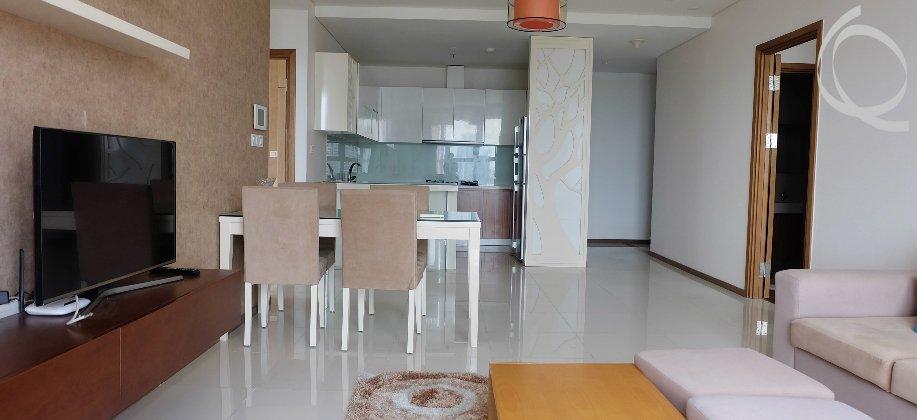 Apartment 3bedrooms cityview in Thao Dien