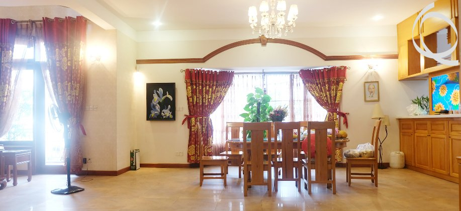 Villa in Thao Dien 6bedroom for rent, private parking