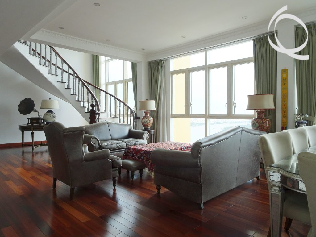 Penthouse Apartment riverview fully furnished in An Phu