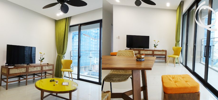 New apartment in D.2 4bedrooms includes furnished
