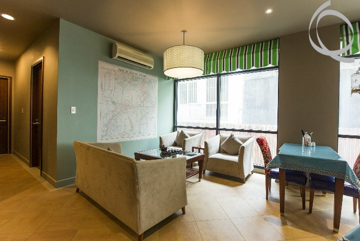 Serviced apartment 2bedrooms near D.1 for rent