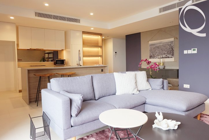 New apartment fully furnished city view for rent