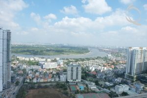 Apartment 3bedrooms An Phu river view for rent