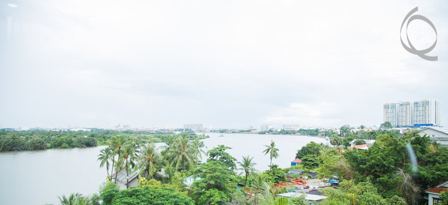 Serviced apartment 1bedroom fully furnished with river view/park view