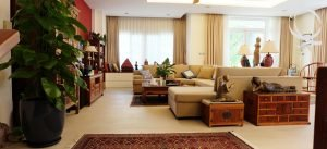 Villa 4bedrooms in Thao Dien for rent