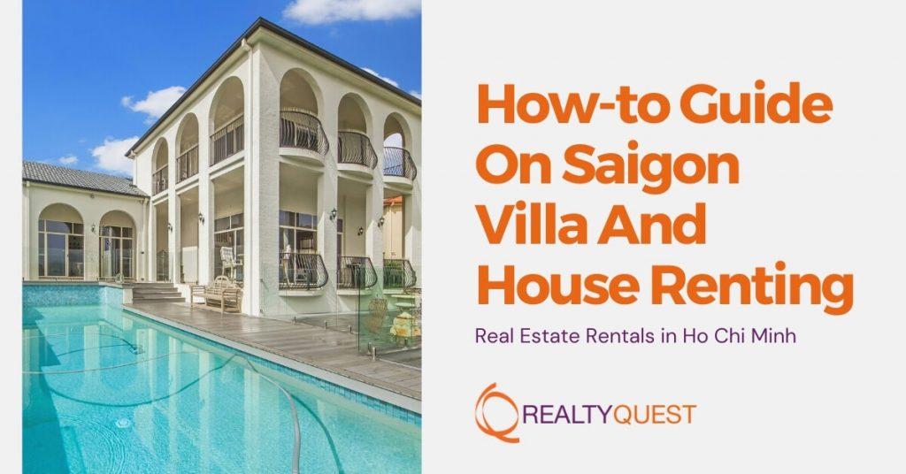 saigon villa house renting