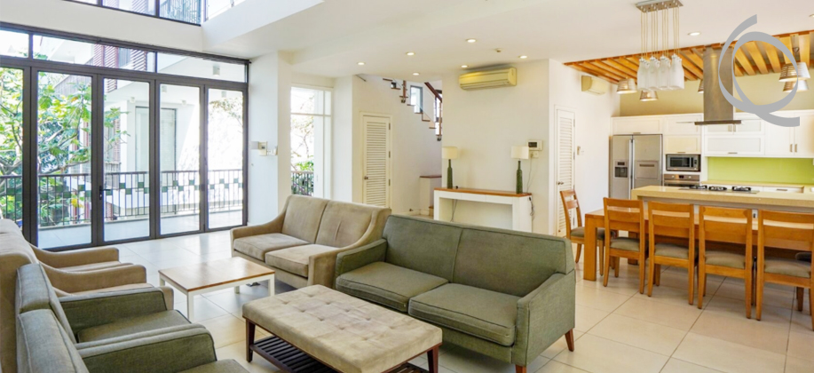 House in Thao Dien for rent, near International school