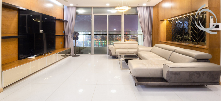 Apartment 4bedrooms with balcony and fully furnished for rent