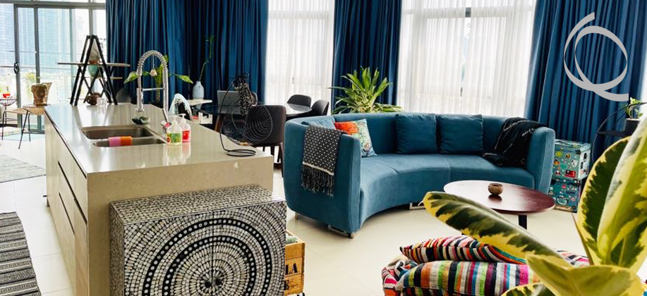 City Garden apartment 3bedrooms fully furnished for rent