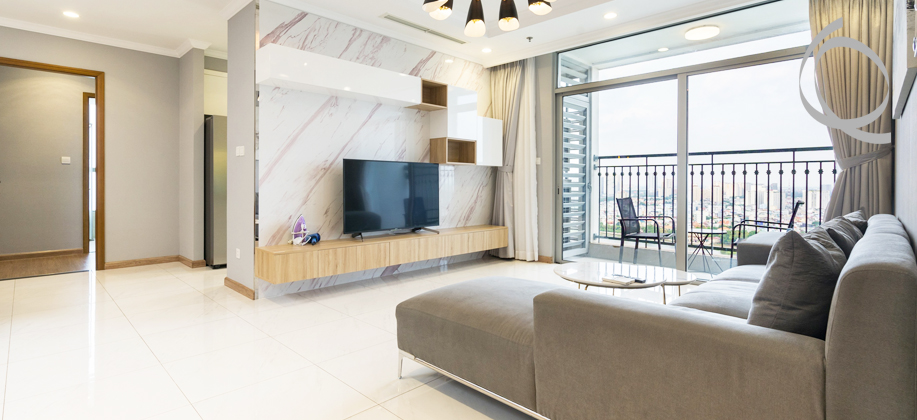 Apartment fully furnished highfloor for rent