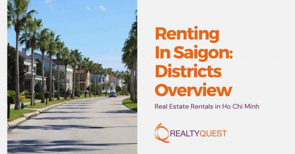 renting in saigon districts overview